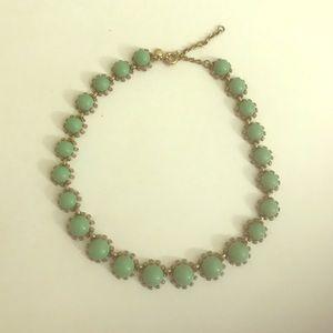 J. Crew Turquoise Statement Necklace